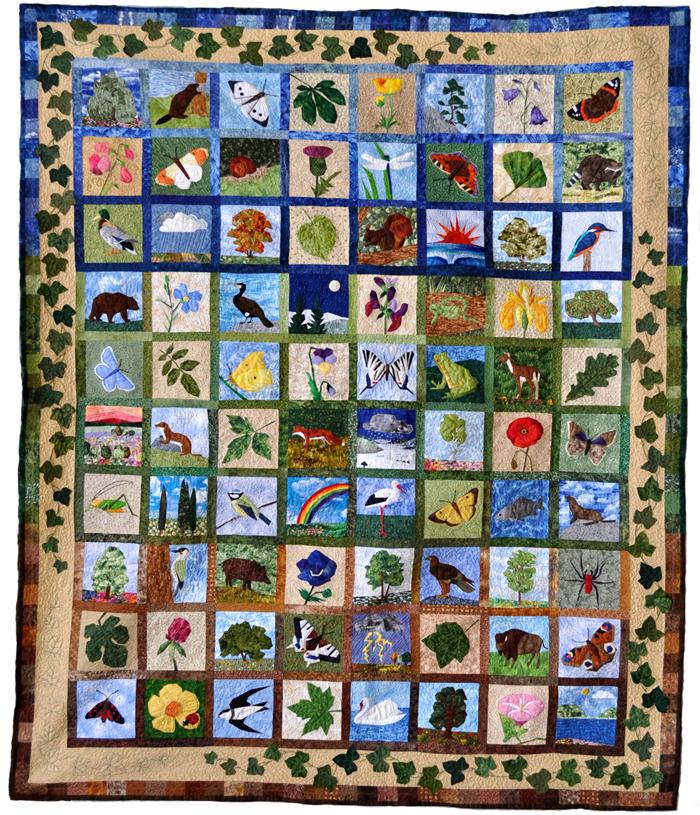 Claudias Quilts Big Quilt Of Nature