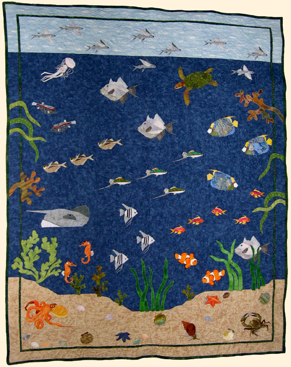 Claudias Quilts Sea Life